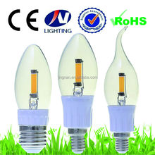 2w/4W G50 110v/220v e14 /e27 dimmable led filament bulbs made in china