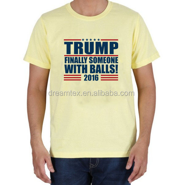 Cheap price china made president voting election campaign t shirt