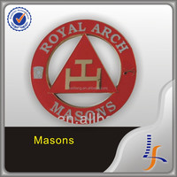 Custom masonic car badges auto emblem