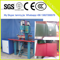 High Frequency Plastic Welding Machine for book cover/PVC bag