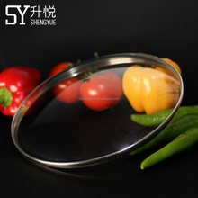 High Quality Tempered Glass Pot Lid