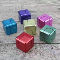 More Colorful Cube Hand Spinner Fidget