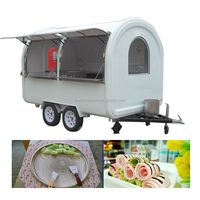 Factory Price Beautiful Top Quality Ice Cream trailer