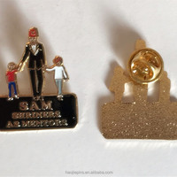 Quality Gold Metal Soft Enamel Souvenir