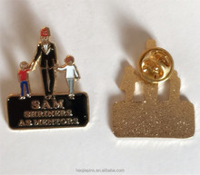 Quality Gold Metal Soft Enamel Souvenir Lapel Pin