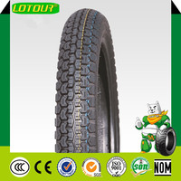 China tubeless motorcycle tyre tire new pattern 325-18 factory for sale