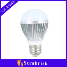 Hot style energy saving day night light 7w e27 led bulb