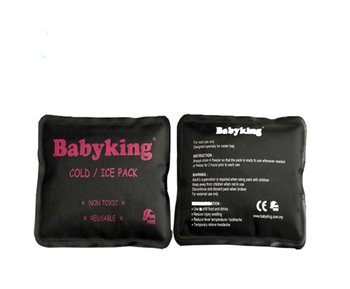 nylon black square high-quality cold hot pack
