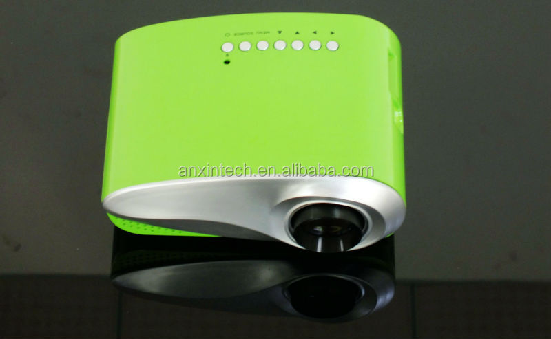 Different color Cheap Price smart Chirstmas projector mini projector cre x1000