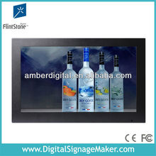 "19"" lcd advertising touch screen for gas station /digital tools definition"