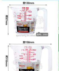 European Fashionable First Rate High Quality food grade drinking cup measurement Bpa free