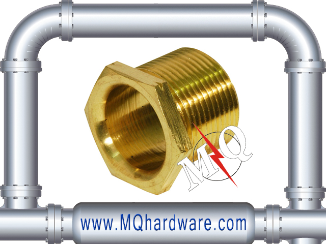 High Quality Long/Short Type Brass Male Bush for BS pipe