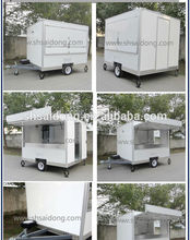 2014 Hot Sale China Mobile Kitchen Food Van Good Quality
