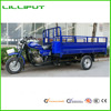 LED Headlight Long Cargo Box South American Market 3 Wheel Motorcycle