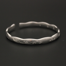 Excellent Quality 999 Sterling Silver Bracelet,Latest Fashion Charm Bangle