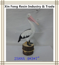 High quality resin pelican statues for tourist