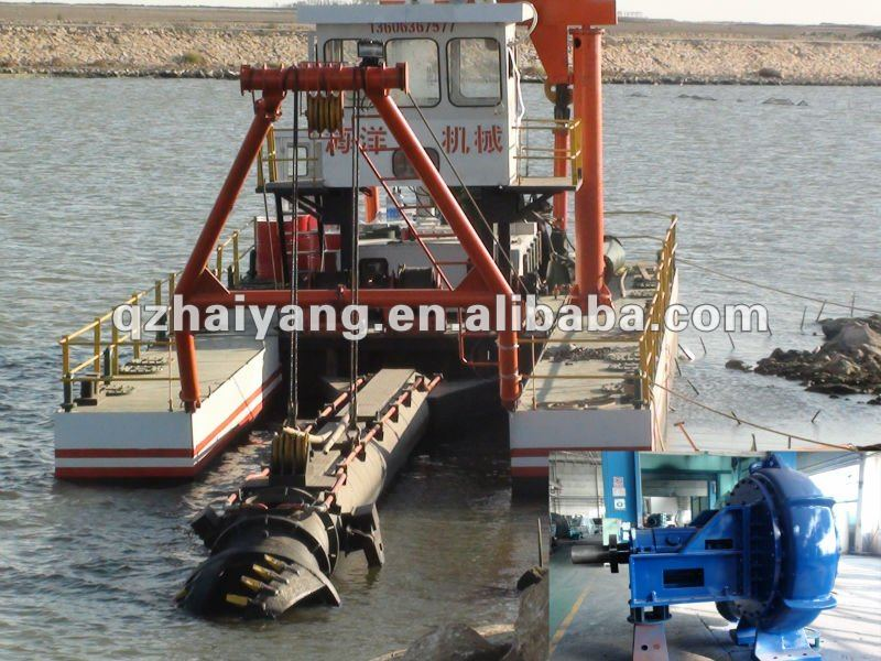 8 inch cutter suction dredge
