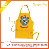 Cartoon children custom apron