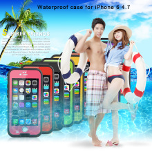 Hot Selling Red Pepper DOT/XLF Waterproof Cover Case Wholesale Waterproof case Sports Case For Iphone5/6/6Plus