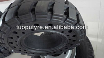 New design solid tyre 6.50-10