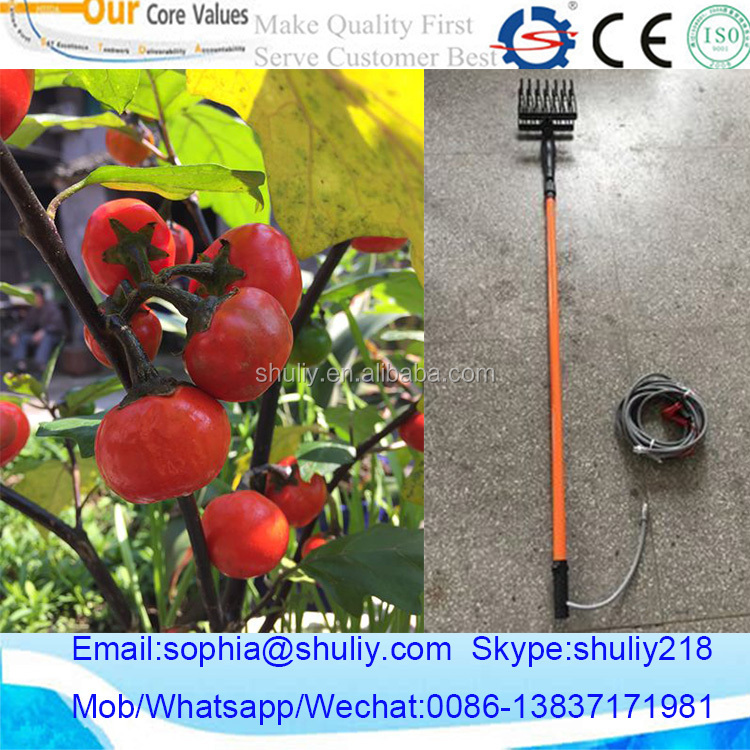 Hot selling electrical fruit shaking picking harvesting machine