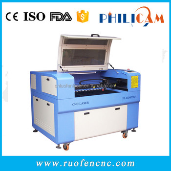FLDJ 2017 co2 laser cutting machine with high performance in Brazil