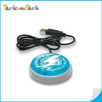 USB Light Up Button, USB flashing WebKey button, one button web launch