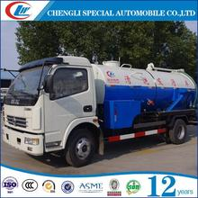 Easy Use sewage vacuum tank 3000l fecal suction truck 3000l fecal suciton tanker