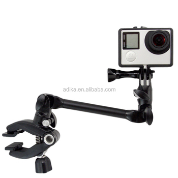 Adjustable Instrument Band Music Stand Base Mount Fixed Clip for Go pro Gopros SJ4000 SJ5000 Xiaomi Yi GP320