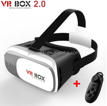 New Virtual Reality VR BOX II 2.0 Version 3D Glasses Google Cardboard VR Glasses 3D Video Movie Game For Smartphones
