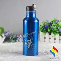550ML Outdoor Sports Cycling Camping Bicycle Aluminum Alloy Water Bottle