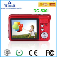 2017 newest and popular Max 18MP disposable camera digital camera with 2.7''TFT display 4 x digital zoom,Face detection