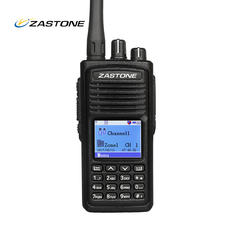 ZASTONE ZT-D900 5w two way radio walkie talkie long distance 1000ch DMR digital radio