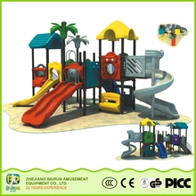 Adventure Series Kids Games Entertainment Children Amusement Park 2015 Favorable Price Wood Plastic Composite Playground