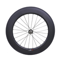 2017 New Style Carbon Fiber Road Bike Wheels 700C bicycle wheel Clincher Wheelset 88mm Matte 23 width