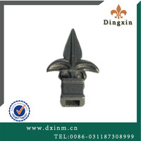 The small metal ornaments cast iron spear decorative garden fencing and beautiful house gates