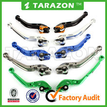 adjustable motorcycle brake & clutch lever combo for Triumph Tiger 1050