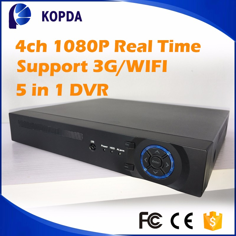 4ch dvr high quality H.264,Remote control by mobile phone,with VGA port,CMS could manager to 64 DVR(1024 cameras)