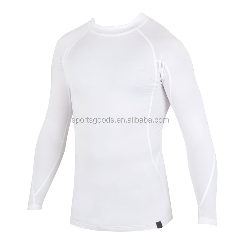 Rashguards Men's Long Sleeves Rash Guards wholesale blank upf t shirts