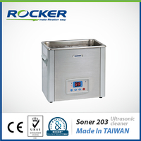 Rocker Scientific 53 KHz Soner 203 SUS304 Stainless Steel Ultrasonic cleaning machine