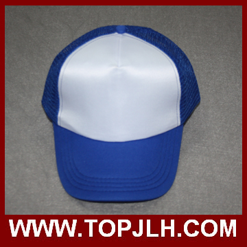 Cheap Sublimation blank sun hat mesh cap for christmas gift