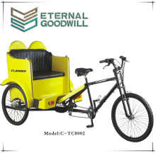 New model 21 speeds pedicab two seat rickshaw/cargo bike for sale/pedicab for sale TC-8002