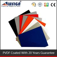 Alusign hot sell acp building materials best price decorative solar panels