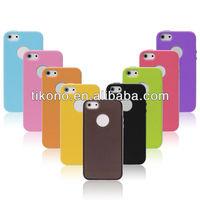 Wholesale PC Plastic hard bumper tpu case for iphone5