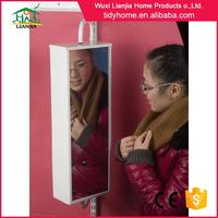 High power clothes hanging rod for wardrobe