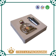 2016 Cheap Price Bottle Wine Packaging PVC Flocking Blister Tray