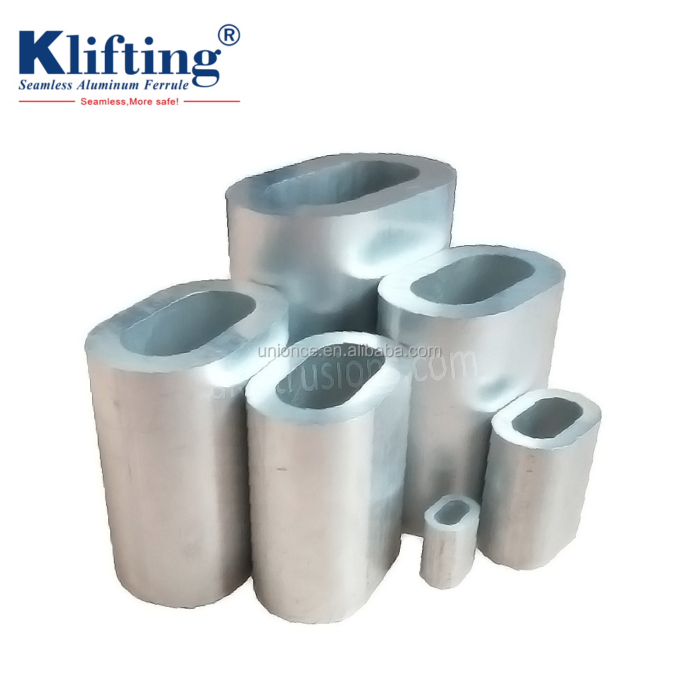 Din3093 Aluminium Ferrule For Crimping Wire Rope - Buy Crimping Wire ...
