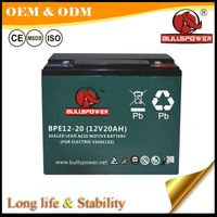 12v 20ah electric motorcycle rechargeable battery for electric vehicle