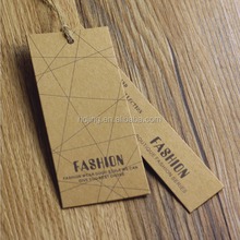Customized Garment Jeans Paper Fabric Hang Tag, Price Tag(A-187)