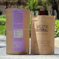 in stock new style peanut packaging paper bags / hot waffle peanut butter bag
